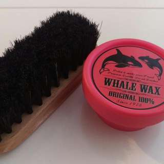 Whale Wax Leather Care