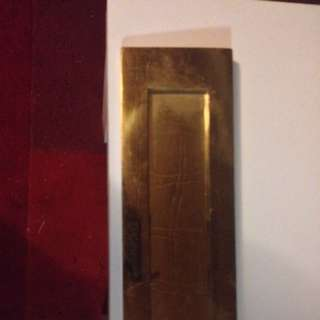 Solid Brass Letter Box For Front Doir