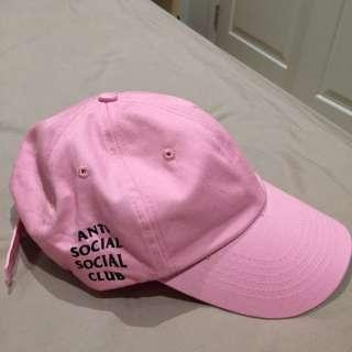 Replica Anti Social Social Club Cap Pink