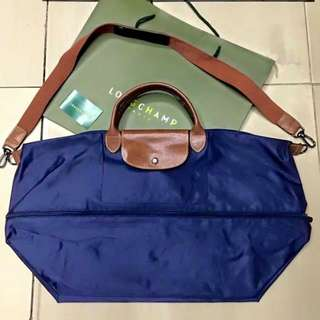Expandable Longchamp bag