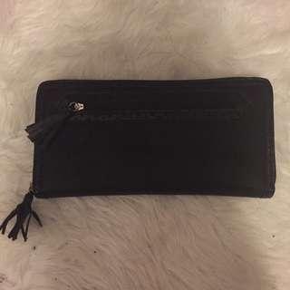 Rmk Leather Large Tassel Wallet