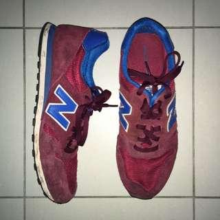 Maroon New Balance Sneakers