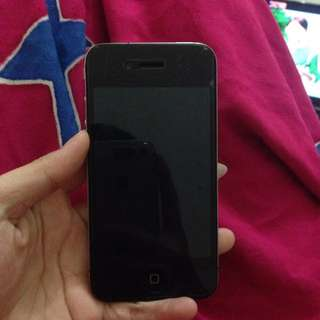 Iphone 4 Black Gsm 8gb