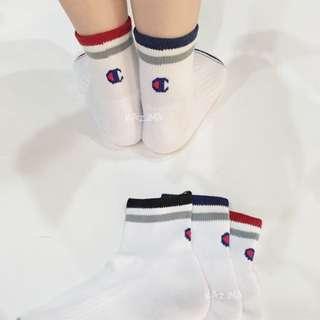 Champion socks 三色一組 日本限定短襪 C1-0785T 正品實拍 公司貨 現貨