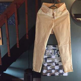 High Waisted American Apparel Jeans