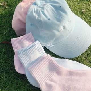 New Balance 粉色系純綿襪 三雙一組/粉藍/粉紫/粉紅 日本帶回公司貨 正品實拍 少量現貨供應