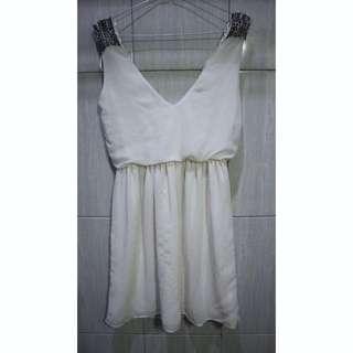 [OBRAL] Zara 💃🏻 White Dress