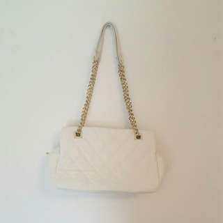 White Handbag From F21