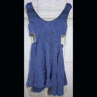 [OBRAL] Lizzi 💃🏻 Cute Dress Bleu