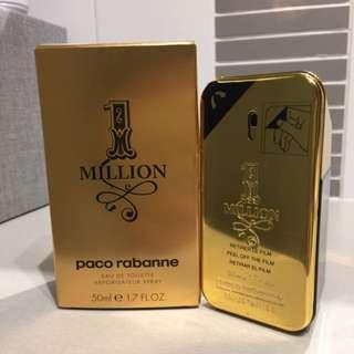 Paco Rabanne 1 Million Eau de Toilette Spray 50mL