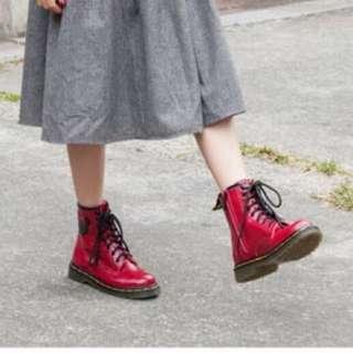 Disney Collection 紅馬丁靴