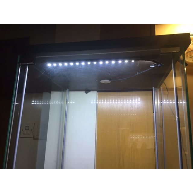 2 Ikea Display Cabinet with LED lighting