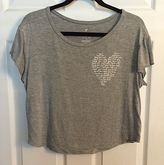 American Eagle Cropped T-shirt