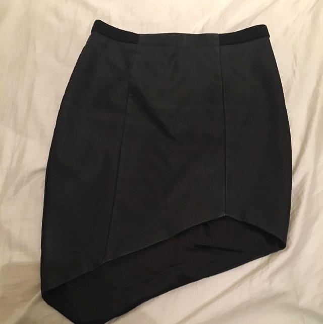 Bardot Black Skirt AUS/UK 10