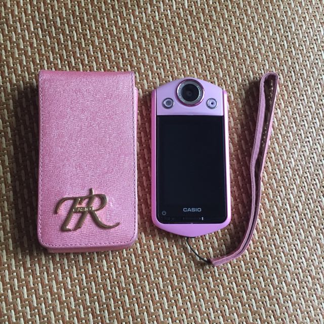 Casio TR35 粉紫 薰衣草色