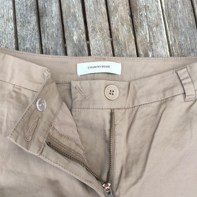 Country Road Tan/Light Brown Trousers