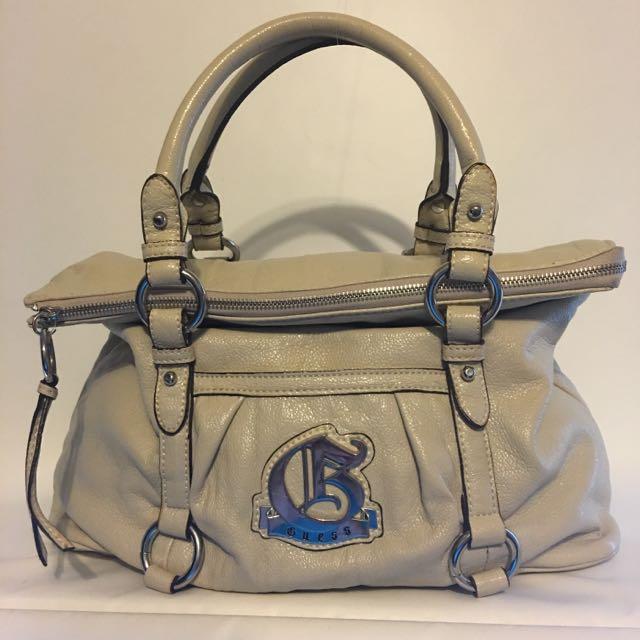 Cream Guess Handbag / Purse