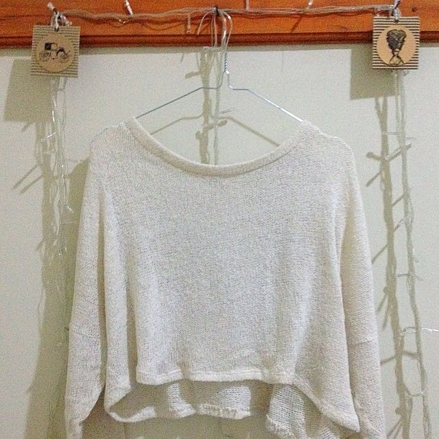 Crop Top Rajut