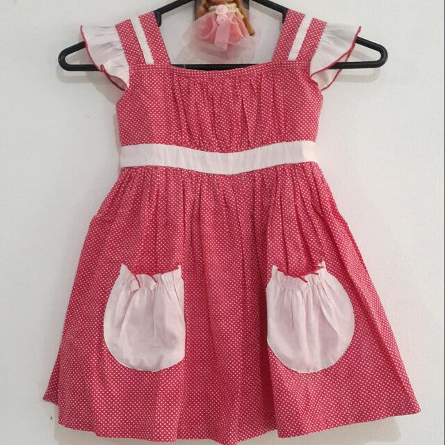Dress Polkadot Pocket