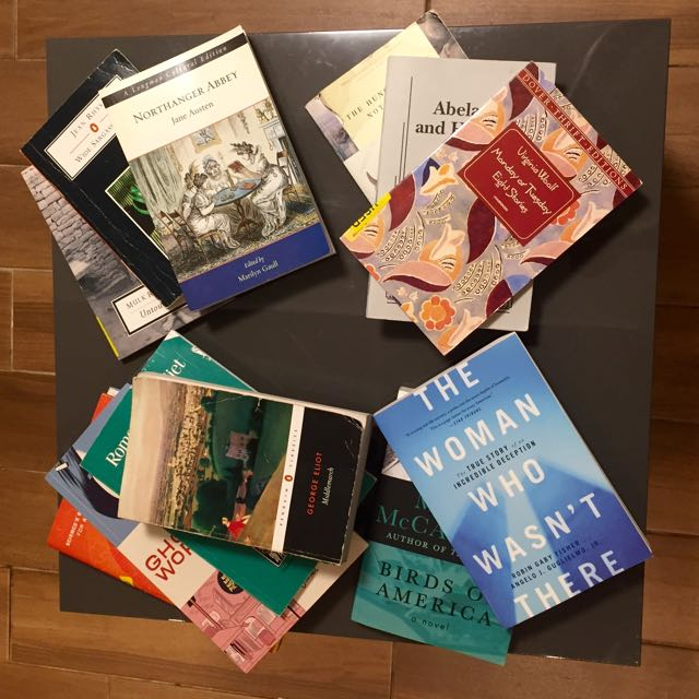 English Major Novels / Books