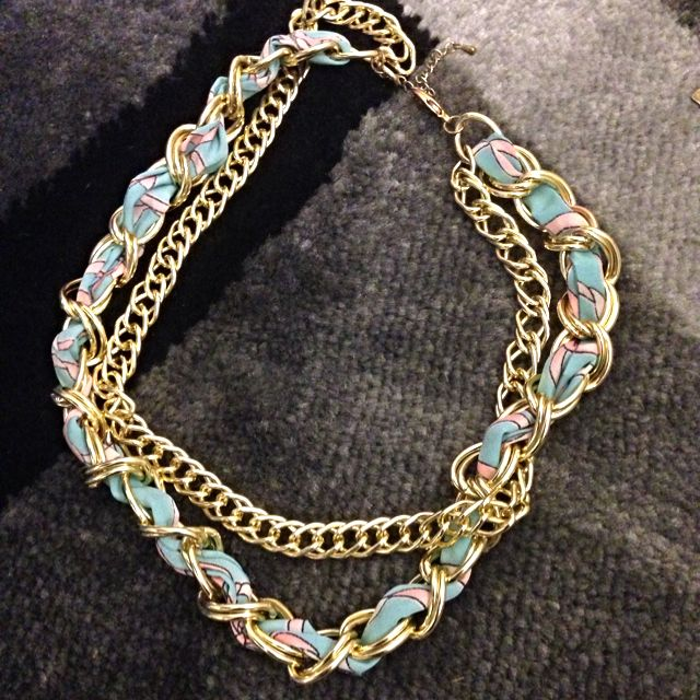 Fashion Double Chains Necklace