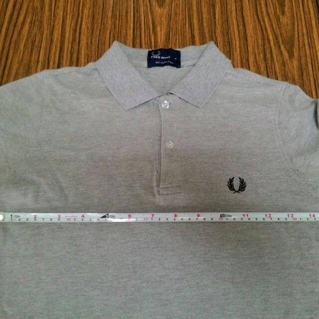 Fred Perry 灰 Polo Ralph Lacoste S號 出清 八成