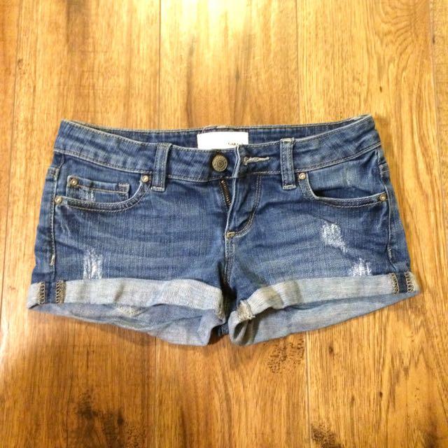 Garage Denim Shorts