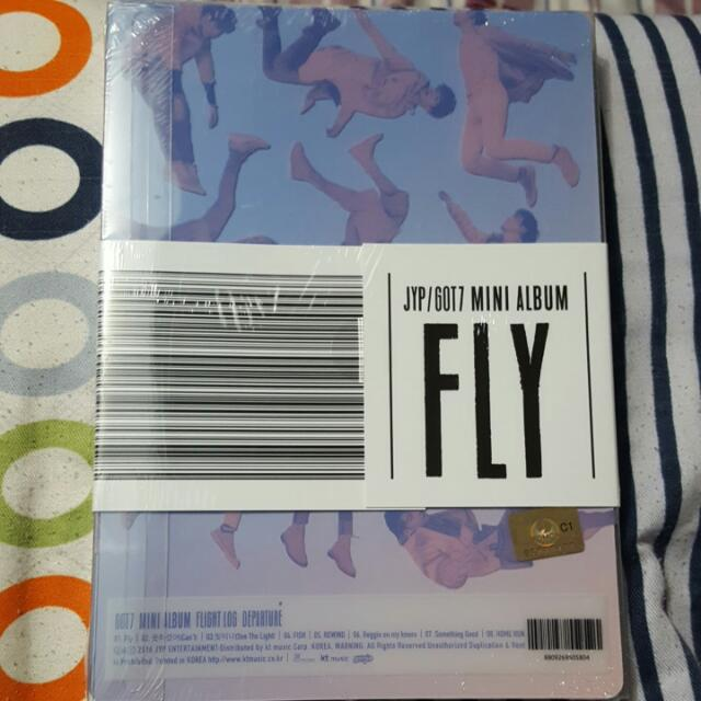 GOT7 Mini Album FLY (Serenity Version)