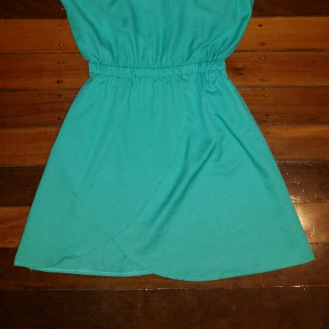 Green Dress Size 8
