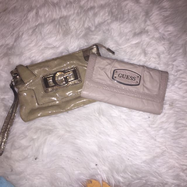 Guess Wallet And Clutch