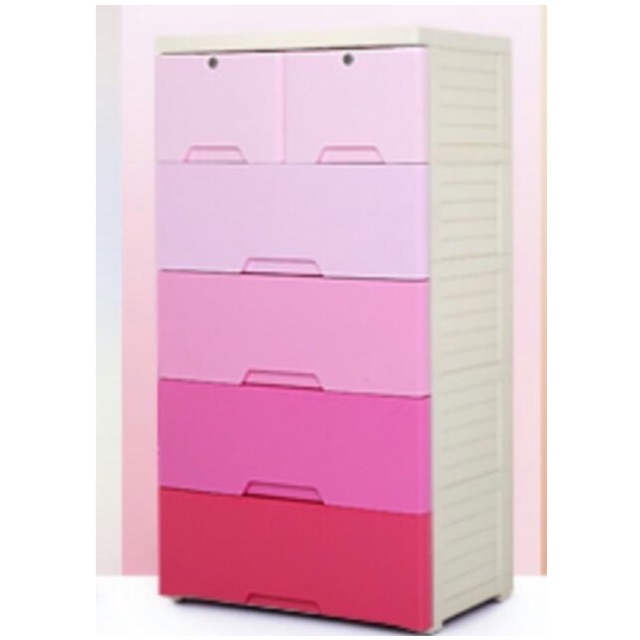 Home Plastic Baby Infant Toddler Children Kids Clothes Cabinet
