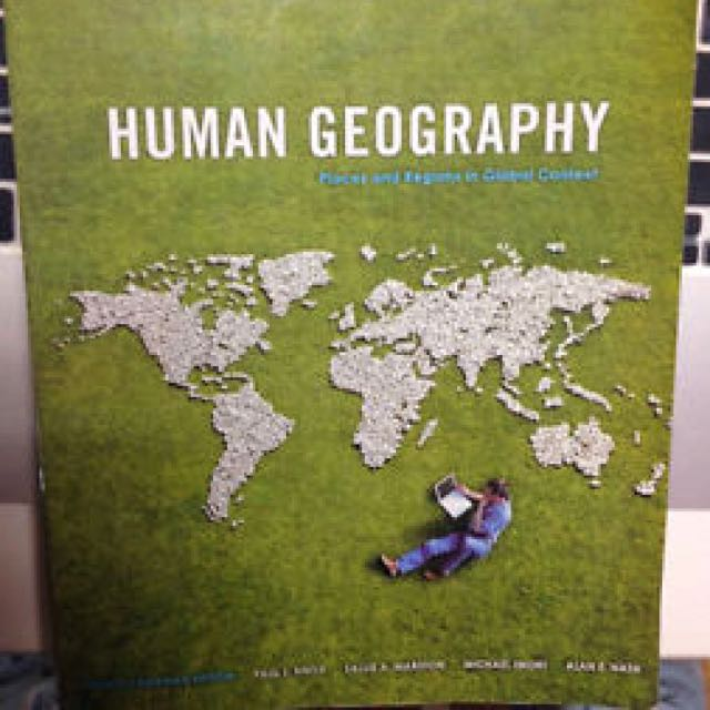 Human Geography - Places And Regions In Global Context (GEOG 1410)