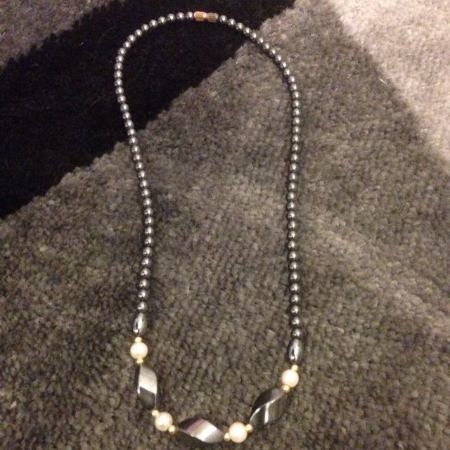 Intricate Beaded Necklace With Pearls