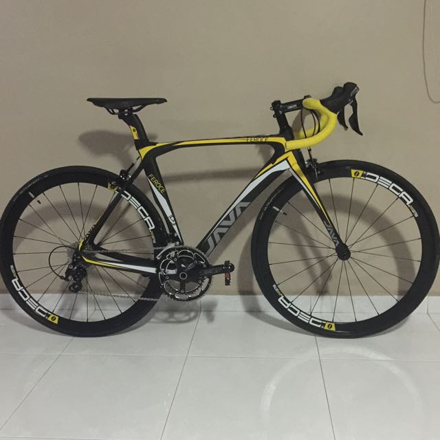 Java Feroce Apex Full Carbon Road Bike For Sell Sports Bicycles