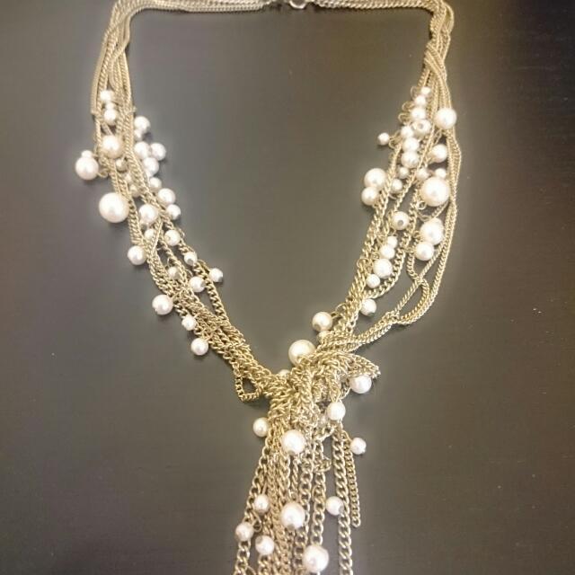 Kalung Rustic Pearl
