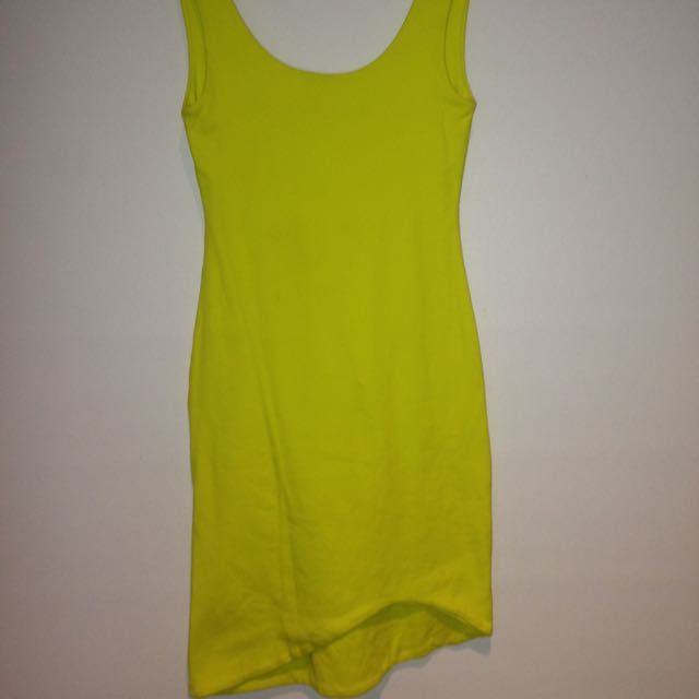 Kookai Yellow Dress Size 1