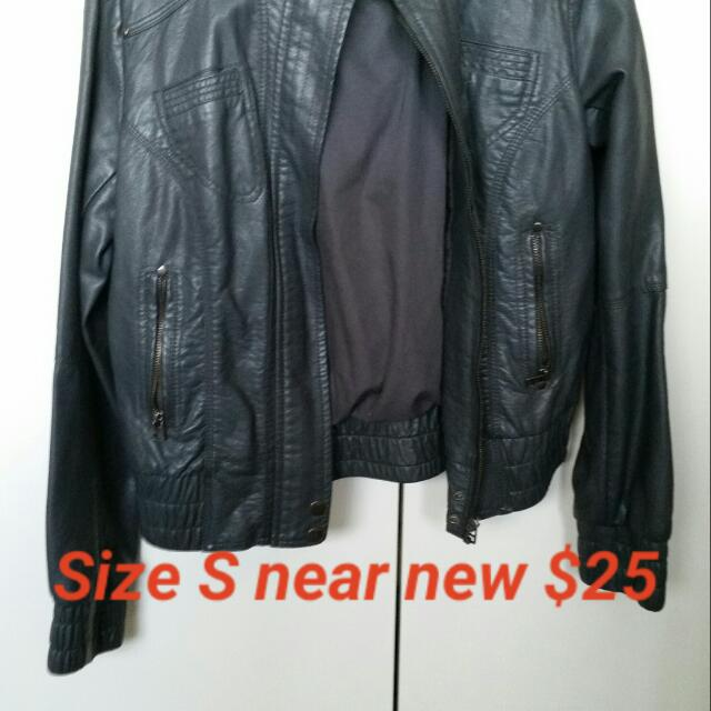 Leather Type Jacket