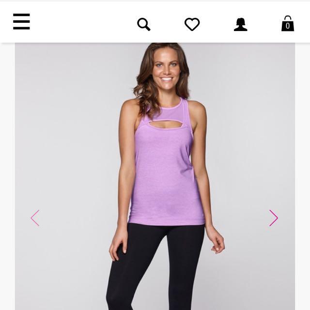 Lorna jane Pink/purple Tank
