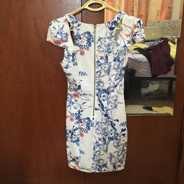 Lucy In The Sky Floral Dress