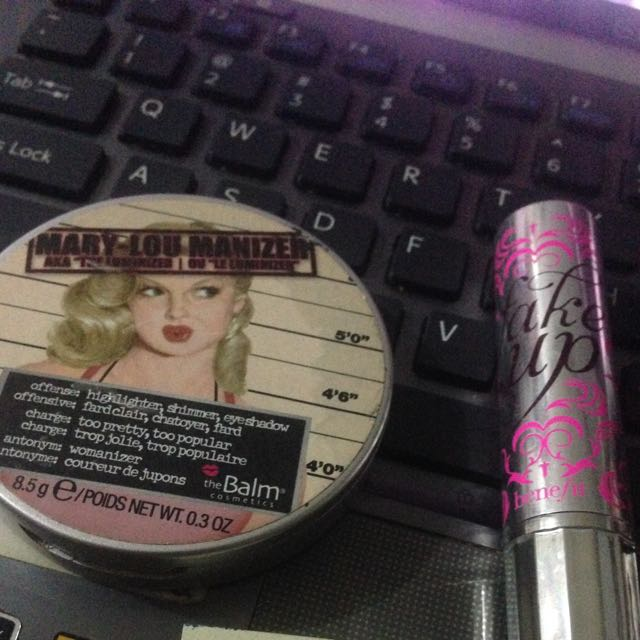 Mary Lou Manizer & Benefit Fake Up Concealer