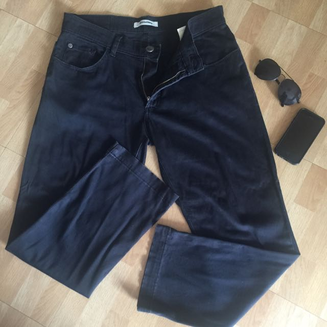 !!! RESERVED ITEM !!! MOSSIMO Black Pants Size 33-34