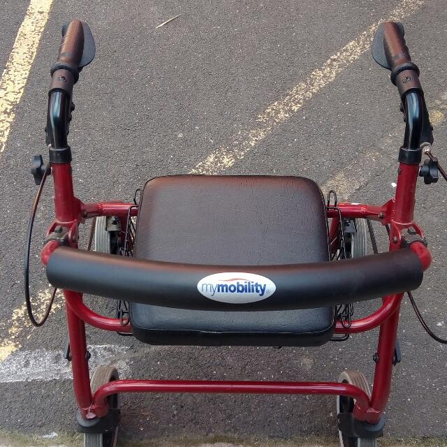 My. Mobility Walker Used But Good Condition