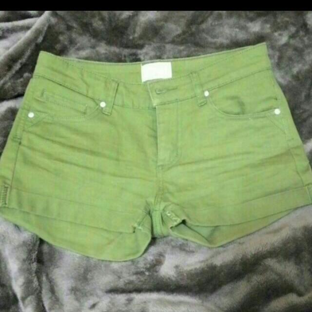 net 橄欖綠短褲