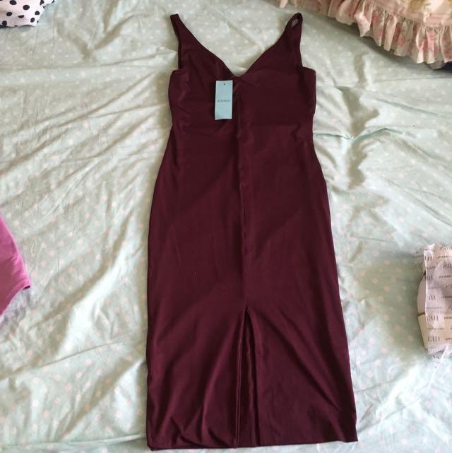 New Kookai Light Mulberry Sophie Dress