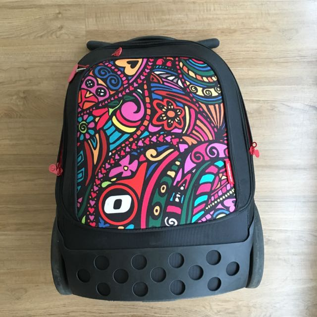 Nikidom Roller XL Trolley School Bag Psychedelic