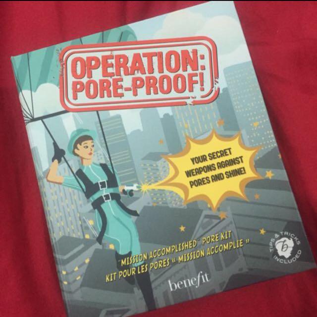 Operation Pore Proof Benefit