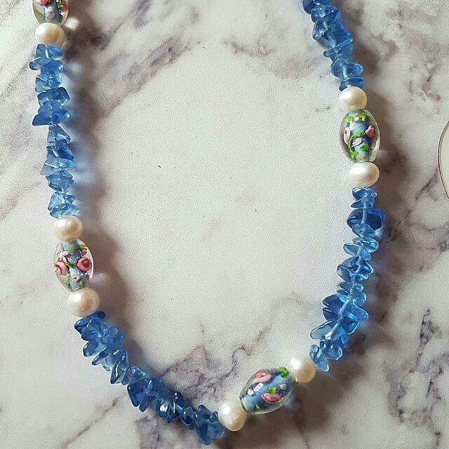 Parisian Fresh Water Pearl Necklace