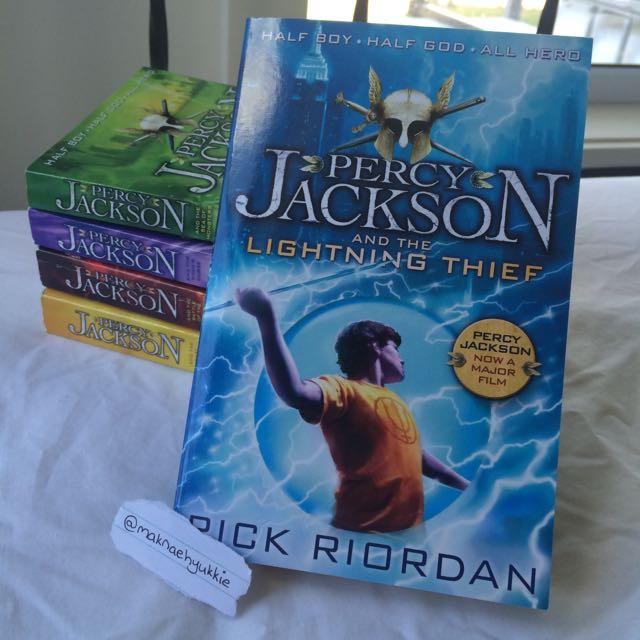 Percy Jackson Complete Set