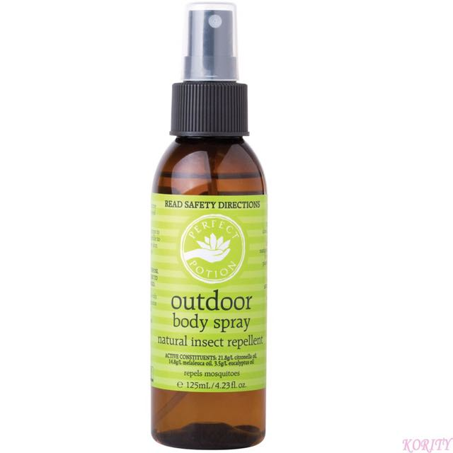 Perfect Potion: Outdoor Body Spray Natural Insect Repellent