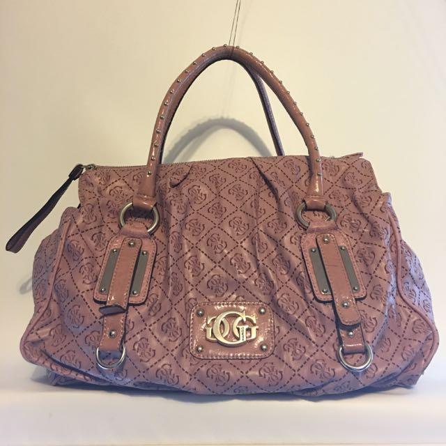 Pink Guess Handbag / Purse
